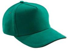 Бейсболка Unit classic зеленая