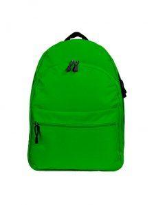 Классический и одновременно стильный молодежный рюкзак. Вместительный и очень удобный, габариты 350x170x450 мм. Рюкзак имеет два внутренний обьемных отделения на молнии, внешний карман на липучке. Материал полиэстер 600D, влагостойкий, износотойкий. Вес изделия 500 гр. Цвет зеленый