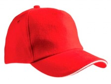 Бейсболка Unit classic красная
