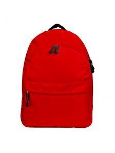 Классический и одновременно стильный молодежный рюкзак. Вместительный и очень удобный, габариты 350x170x450 мм. Рюкзак имеет два внутренний обьемных отделения на молнии, внешний карман на липучке. Материал полиэстер 600D, влагостойкий, износотойкий. Вес изделия 500 гр. Цвет красный