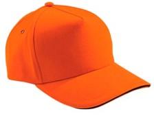 Бейсболка Unit classic оранжевая