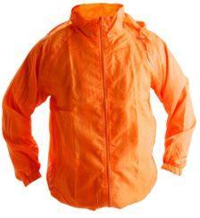 Ветровки с капюшоном оранжевая