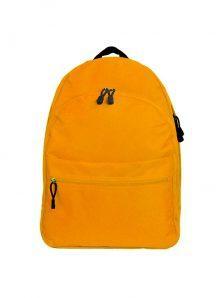 Классический и одновременно стильный молодежный рюкзак. Вместительный и очень удобный, габариты 350x170x450 мм. Рюкзак имеет два внутренний обьемных отделения на молнии, внешний карман на липучке. Материал полиэстер 600D, влагостойкий, износотойкий. Вес изделия 500 гр. Цвет оранжевый