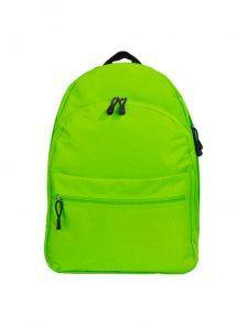 Классический и одновременно стильный молодежный рюкзак. Вместительный и очень удобный, габариты 350x170x450 мм. Рюкзак имеет два внутренний обьемных отделения на молнии, внешний карман на липучке. Материал полиэстер 600D, влагостойкий, износотойкий. Вес изделия 500 гр. Цвет салатовый