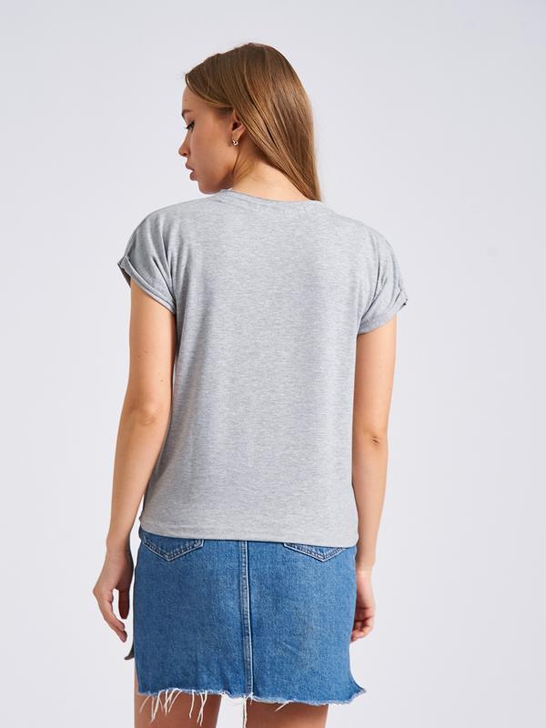 Женская футболка топ спина