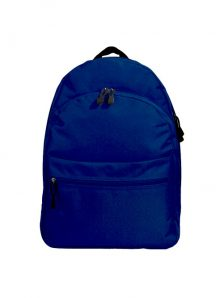 Классический и одновременно стильный молодежный рюкзак. Вместительный и очень удобный, габариты 350x170x450 мм. Рюкзак имеет два внутренний обьемных отделения на молнии, внешний карман на липучке. Материал полиэстер 600D, влагостойкий, износотойкий. Вес изделия 500 гр. Цвет темно синий