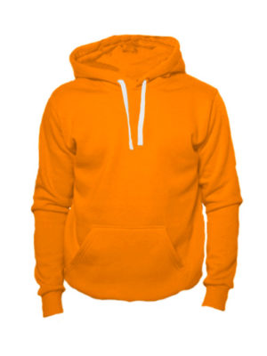 Толстовка с капюшоном оранжевая