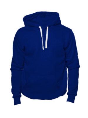 Толстовка с капюшоном темно синяя