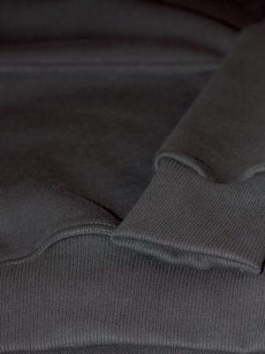 Отделка рукавов и низа толстовки кошкорсе