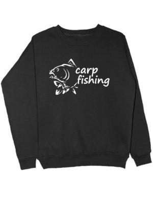 Carp fishing свитшот черный