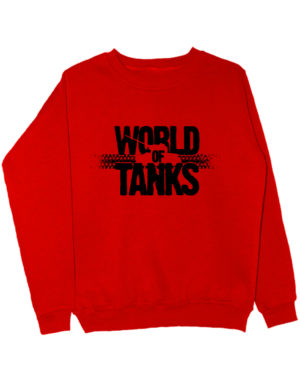 World of tanks свитшот красный