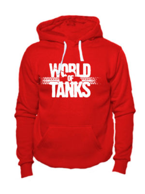 World of tanks толстовка красная