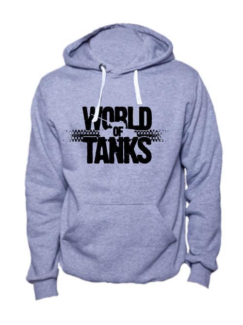 World of tanks толстовка серая