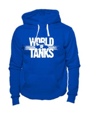 World of tanks толстовка синяя