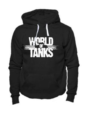 World of tanks толстовка черная