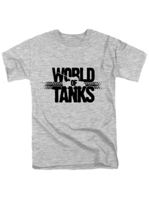 World of tanks футболка серая